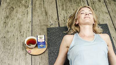 Exercice de yoga pour favoriser une respiration consciente