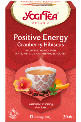 Positive Energy Cranberry Hibiscus